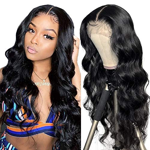 Peluca rizada natural humano pelucas lace front wigs pelucas naturales 100% mujer onduladas largas pelucas de pelo humano remy 150% densidad 20inch