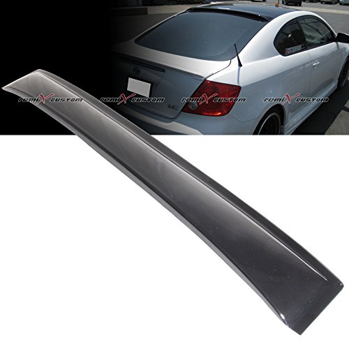 Remix Custom Rear Roof Visor Window Guard Spoiler Wing Compatible with 2005-2010 Scion tC
