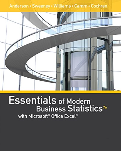 Essentials of Modern Business Statistics with Microsoft Office Excel (Book Only)
