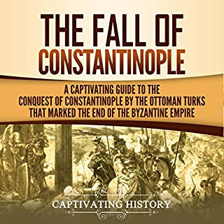 The Fall of Constantinople audiobook cover art