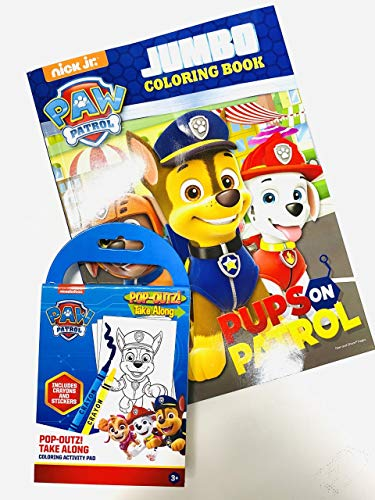 Paw Patrol Activity Coloring set with stickers and crayons