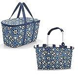 Einkaufsset bestehend aus reisenthel carrybag Einkaufskorb und reisenthel coolerbag Kühltasche (floral 1)