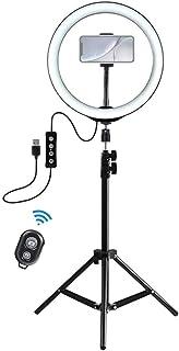Aro de Luz con Tripode LED Ring Light Anillo Luz para Maquillaje, Tiktok, Live Stream, Fotografia, Vlog con tripode y Mand...