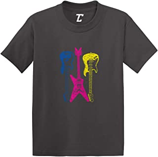 Guitars Neon - Rockstar Musician Infant/Toddler Cotton Jersey T-Shirt