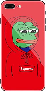 iPhone Self-Design Street Fashion Pepe The Frog Protector (Glass, iPhone7/8)
