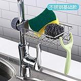 soporte bandejas cocina Inicio Fregadero de almacenamiento de drenaje Rack-Snap-on Estante de cocina accesorios cocina estante cocina