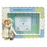 Westland Giftware Holly Hobbie Picture Frame Photo Two Best Friend Doll Friendship Is A Treat Resin Horizontal Vintage Retro 1970s Look 4 by 6