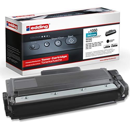 edding EDD-1050 - Toner ersetzt Brother TN-2320/2310 für Brother MFC L2700DN / L2700DW / L2720DW / L2740DW, DCP L2500D / L2520DW / L2540DN / L2560DW, HL L2300D / L2340DW / L2360DN