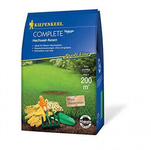 Rasensamen - Profi-Line Complete - Nachsaat-Rasen (4 kg) von Kiepenkerl