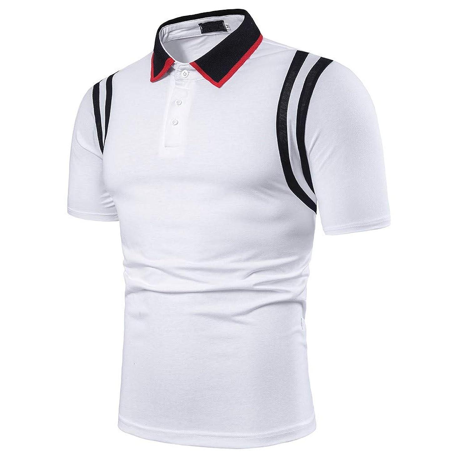 Men's Athletic Golf Polo Shirts,MmNote Bodybuilding Body Shaper Sweat-Wicking Technology Lightweight Short Sleeve