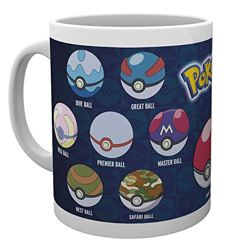 GB Eye LTD, Pokemon, Ball Varieties, Taza de Ceramica