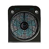 Cecotec EnergySilence 6000 PowerBox Black Ventilador de Suelo. 5 aspas. 50W. 3 velocidades. Motor de Cobre. con regilla Rotatoria. Temporizador de 2h