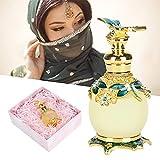 Perfume de aceite esencial, caja de regalo de perfume para amigos para regalos Aire refrescante(No Man's Land Rose, green)