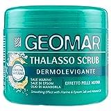Geomar Talasso Scrub Dermolevigante 600 - Effetto Pelle Nuova - Con Sale Marino, Sale di Epsom e Olio di Mandorla