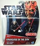 Star Wars Movie Heroes 39619Emergency of the Sith Darth Darth Sidious e Darth Maul