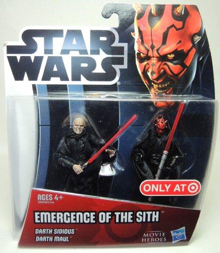Star Wars Movie Heroes 39619 Emergency of the Sith Darth Darth Sidious et Darth Maul
