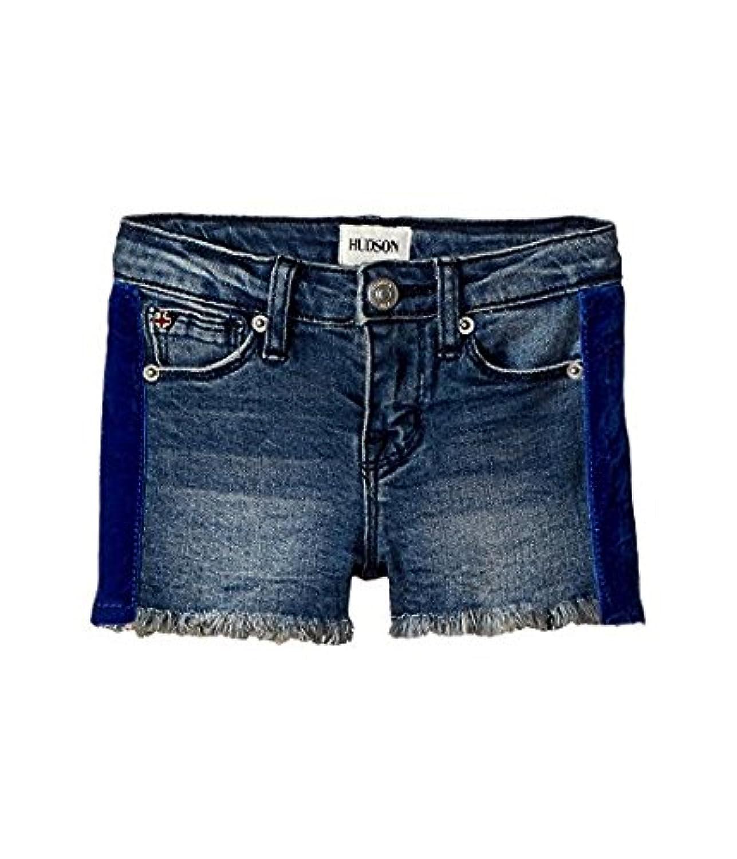ハドソン Hudson Kids キッズ 女の子 ショーツ ハーフパンツ Washed Blue Gabby Shorts 6XLittleKids [並行輸入品]