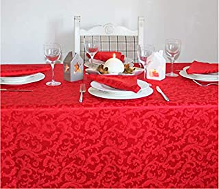 140 x 40 cm Runner da tavola natalizia CasaJame colore: Bianco