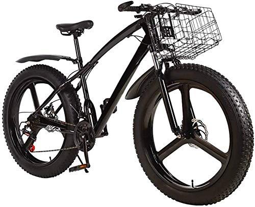 Bicicleta de Bicicleta, Bicicleta de montaña de Mans out-Lime Mens, 3 Habla 26 en Bicicleta de Bicicleta de Freno de Disco Doble para Adolescentes Adultos