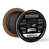 1,000 LB SurvivorCord XT Spool   500 FEET   Patented Military Type IV 750 Paracord/Parachute Cord (7/32' Diameter) with Integrated Kevlar Thread, Braided Fishing Line, and Waterproof Fire Tinder.