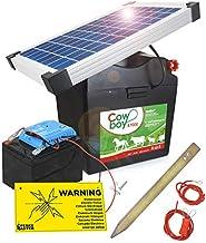 Weidezaungerät Solar 12v Komplettset mit 10 Watt Solarpanel /& 80 Ah Akku inkl.