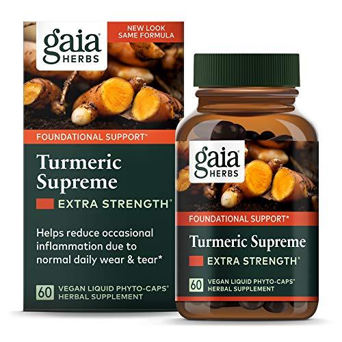 Gaia Herbs, Turmeric Supreme Extra …