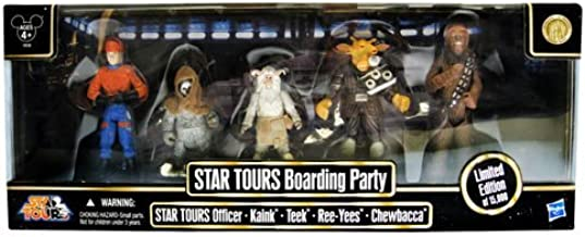 Prannoi Star Wars Star Tours Boarding Party - Disney Exclusive Action Figure Collection