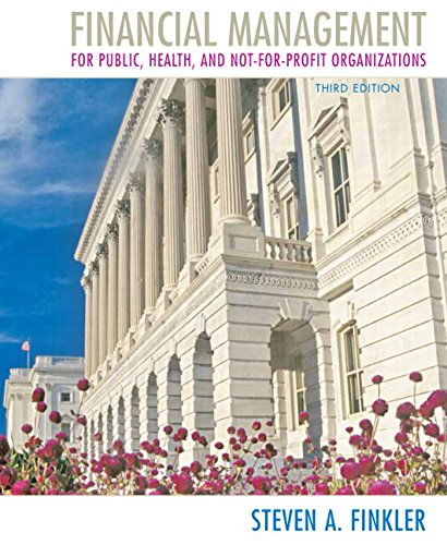 Financial Management for Public, Health, and...