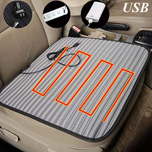 Power Banks Auto-verwarmingskussen, 5 V, intelligente temperatuurregeling, draagbare multifunctionele USB-verwarmingskussens voor auto/thuis/kantoor, 2 stuks