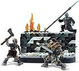 ゲームオブスローンズ ホワイトウォーカー ジョンスノー バトル コンスラックス フィギュア おもちゃ Mega Game of Thrones White Walker [並行輸入品]