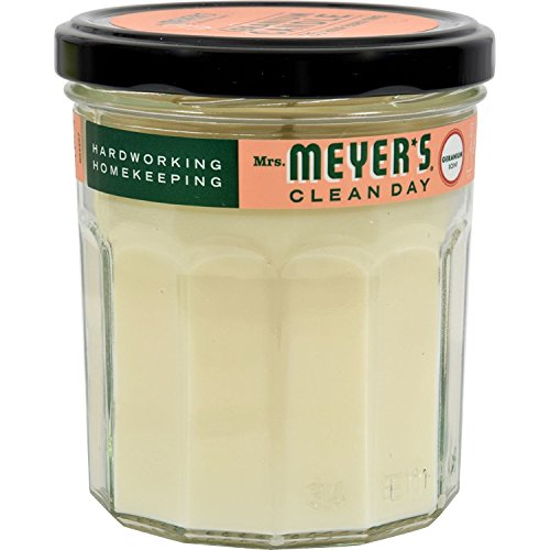 Mrs. Meyer s Soy Candle - Geranium - Case of 6 - 7.2 oz Candles