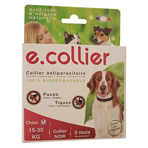Essentiel-Collare per cani antizecche e antipulci, prodotto 100% naturale