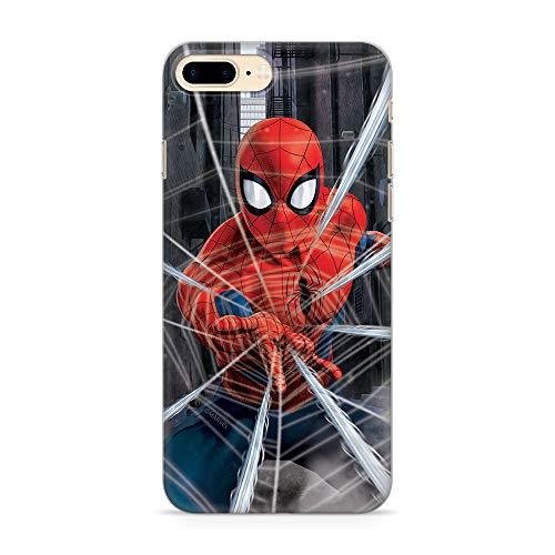 Ert Group Original Marvel Coque de Protection pour Spider Man 008 iPhone 7 Plus/8 Plus Multicolore