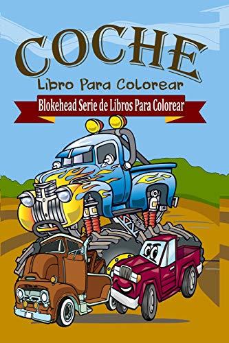 Coche Libro Para Colorear