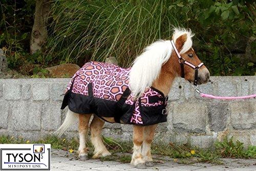 Tysons Breeches 1200 D Regendecke Rosa Pink Gira 200 Gramm Minipony Falabella Minishetty Shetty 65 70 75 80 85 90 95 100 (65)