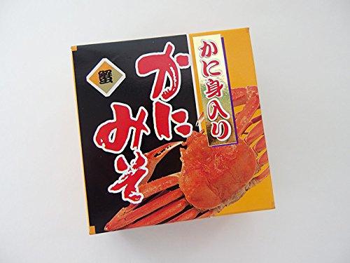 かに身入り!かにみそ90g『蟹味噌』を缶詰加工しました。お料理の隠し味にお楽しみいただけます。