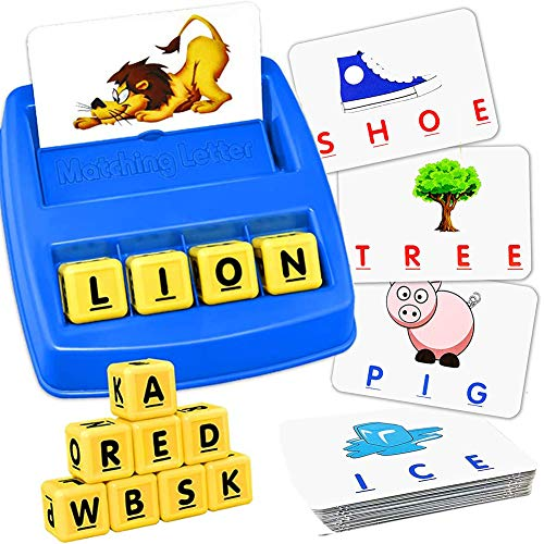 SOKULA Word Matching Letter Game, Letter Matching Board...