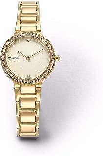 زايروس ساعة رسمية نساء انالوج بعقارب خليط معدني - ZY0015G