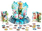 Disney Tinkerbell and the Fairies 3-D Birthday Party Table Decorating Kit, Multi Color, 12 3/5'.