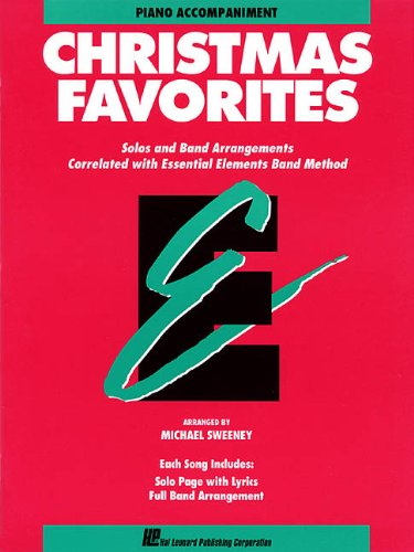 Price comparison product image Essential Elements Christmas Favorites: Piano Accompaniment (Essential Elements Band Method)