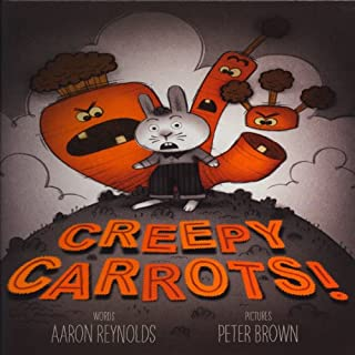 Creepy Carrots audiobook cover art