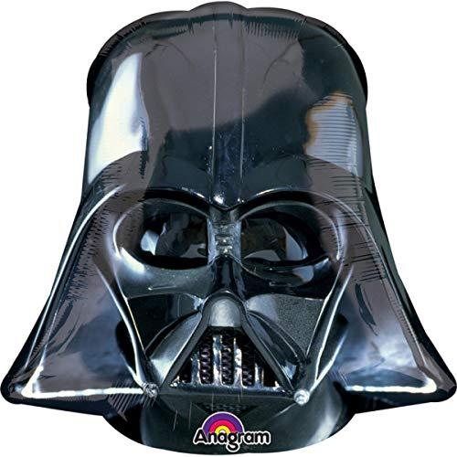Ballonim® Star Wars Darth Vader 63 cm x 63 cm Luftballons Folienballon Party DekorationGeburtstag