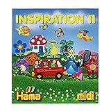 Hama - 399-11 - Loisirs Créatifs - Livre Inspiration n°11 - Perles à Repasser Midi...