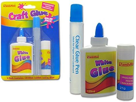 Glue 3 pcs Set100 Ranking TOP6 2021 new Grams Wt 21 Stick G Case 50 Clear ml