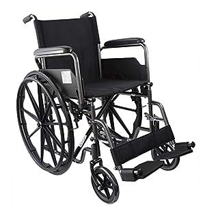 Mobiclinic, modelo S220 Sevilla, Silla de ruedas plegable premium,