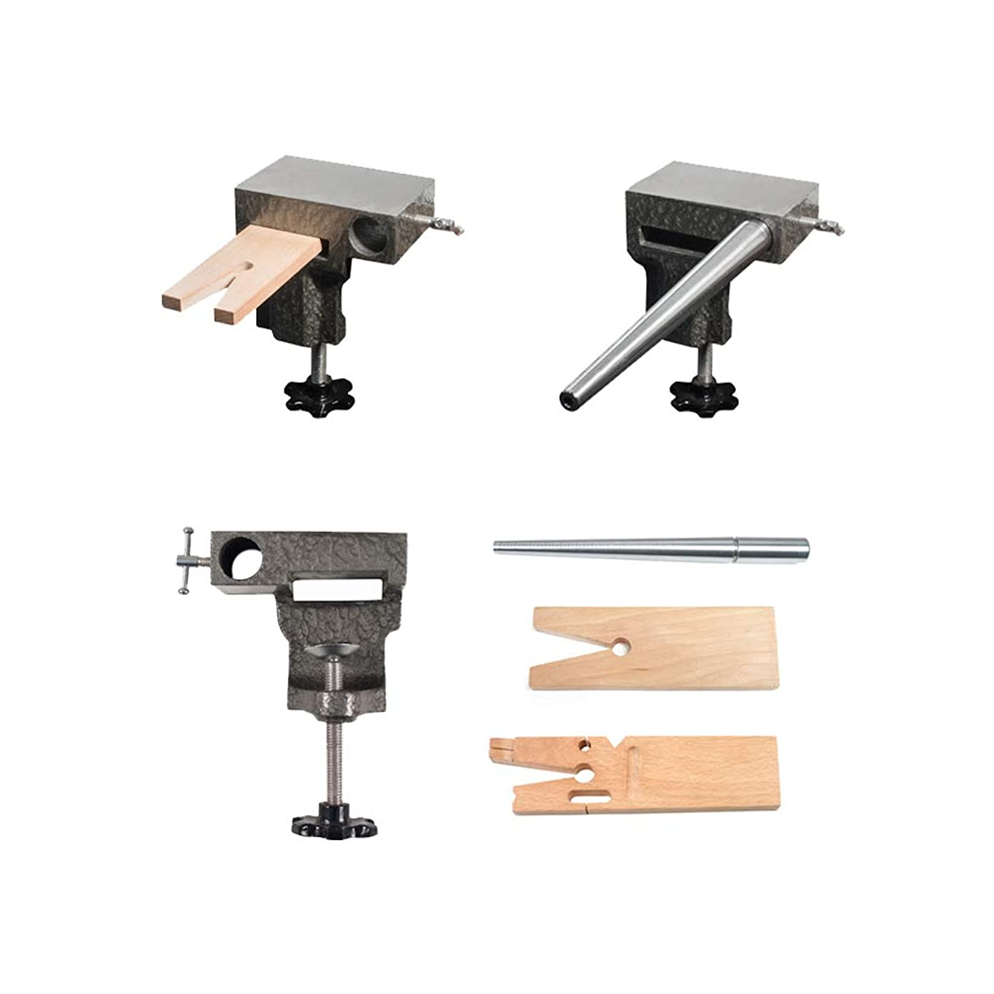 Bench Anvil Basic Combo Kit -Ring Mandrels, Anvil, And V Slot Bench Pin SFC Tools - 13-136