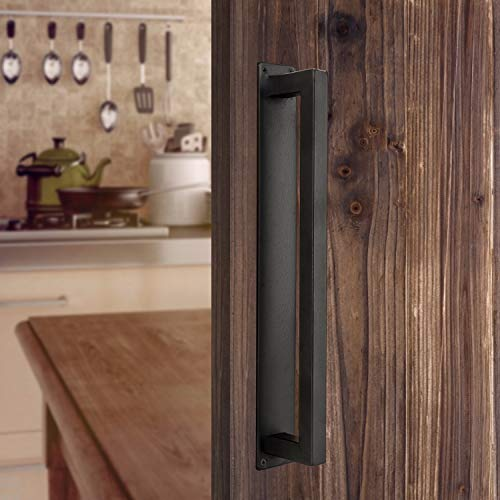 pull push handle for wood door - 1
