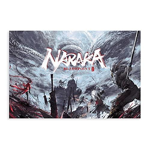 NARAKA BLADEPOINT - Póster de arte de anime de artes marcia