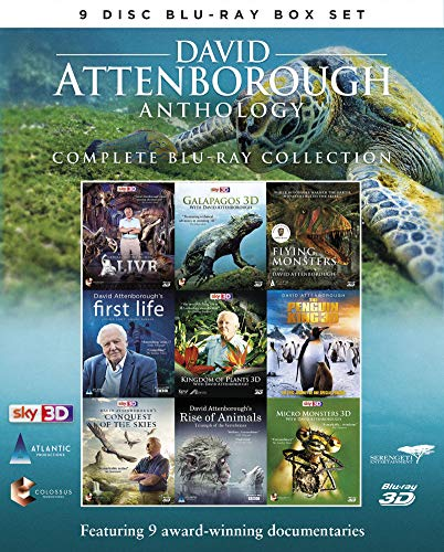 David Attenborough Anthology - Complete Blu-Ray Collection [3D Blu-ray]