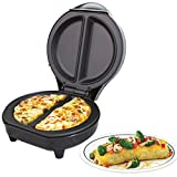 Best Omelette Makers - Trendi Dual Omelette Maker Electric-Easy Clean Non-Stick Cooking Review
